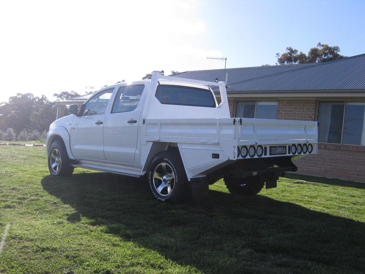 Toyota Hilux Dual Cab Tray Dga Welding Amp Fabrication
